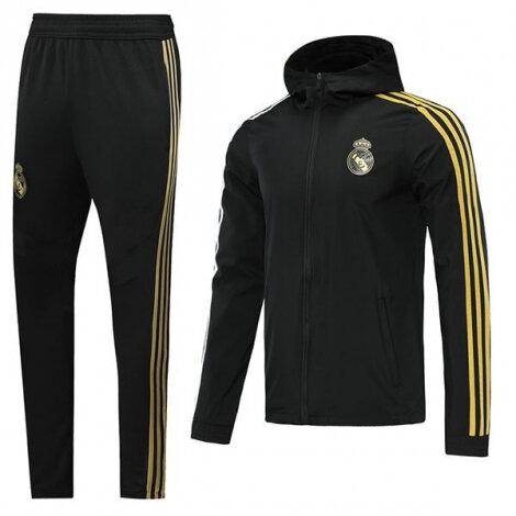 Черно-желтый тренировочный костюм Реал Мадрид 2020-2021 сезона